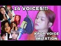 [KPOP/K-IDOLS IMPRESSIONS] SINGING KPOP WITH 14 SINGING STYLES! (VOICE IMPRESSIONS)