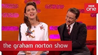 marion cotillard cant sing like édith piaf the graham norton show 2016 new years eve bbc
