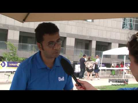Bell Canada in Persian Family Day 2014