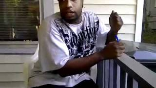 Hood Rapper Spits Hood Freestyle! Part 3 (my life)