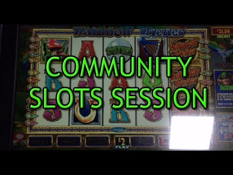 Community Slots Session With Big Wins And Jackpots