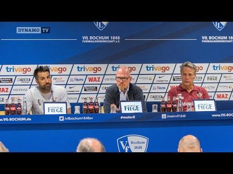 4. Spieltag | BOC - SGD | Pressekonferenz nach dem Spiel