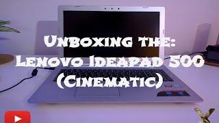 Introducing the... Lenovo Ideapad 500