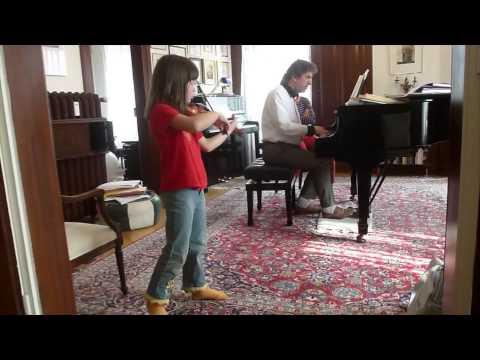 Vivaldi violin concerto in g-minor; 1.mov; played by Manoush Toth