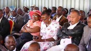 The Meru county government ready to negotiate with health workers