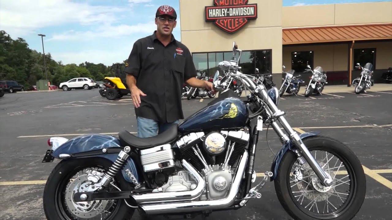 2009 Harley-Davidson Dyna Street Bob - YouTube