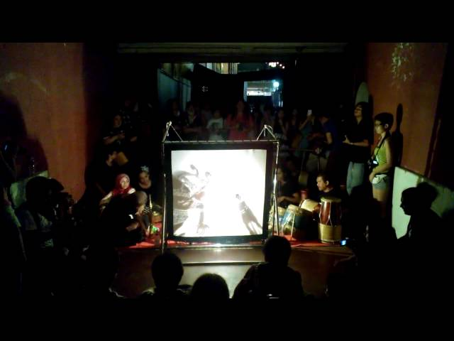 Wayang Kulit, Shadow puppet play in Malaysia Travel Video