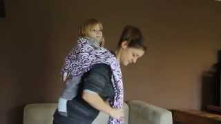 Erstellen sie die sitzfläche in portage dos + känguru-dos (create a seat + rucksack)