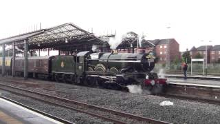 GWR Castle 5043 Earl of Mount Edgcumbe at Chester with