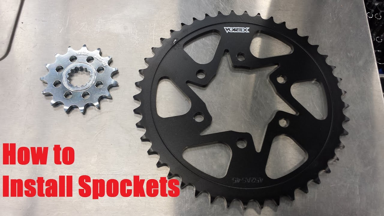 How To Install Sprockets On 2013 16 Zx6r Youtube