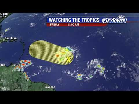 Tropical weather forecast: September 21, 2018