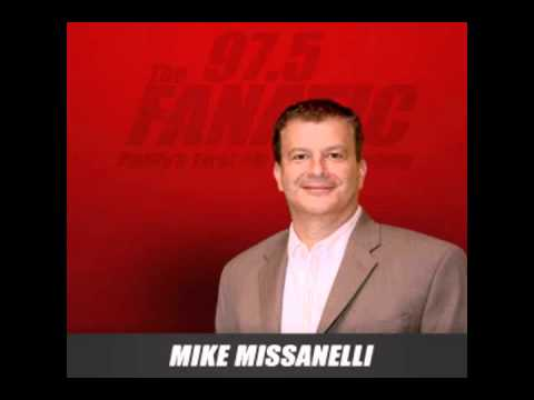 My afternoon call-in to Philadelphia's #1 sports radio personality, Mike Missanelli