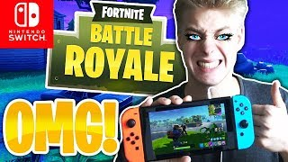 SWITCH VOICE CHAT IST COOL! | Fortnite Battle Royale Nintendo Switch Deutsch