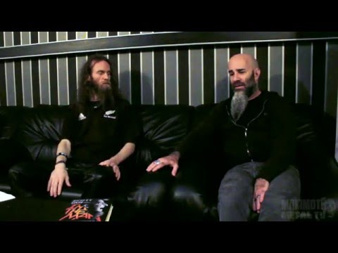 Scott Ian talks about S.O.D. 2015. MMTV .