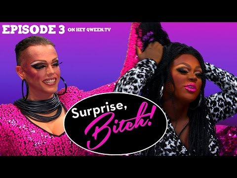 Morgan McMichaels & Mayhem Miller on Surprise, Bitch! S1E3: Tucks & Tongue Pops.