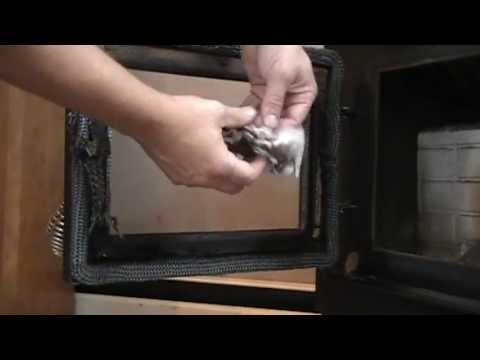 How To Clean Your Pellet Stove Door Glass The Easy Way Youtube