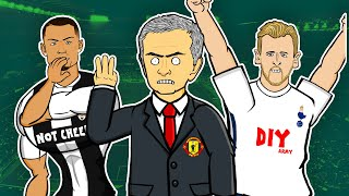 Manchester United 0-3 Tottenham Hotspur  📺 GOGGLE IN THE BOX with 442oons 📺 ft. Mourinho & Zidane