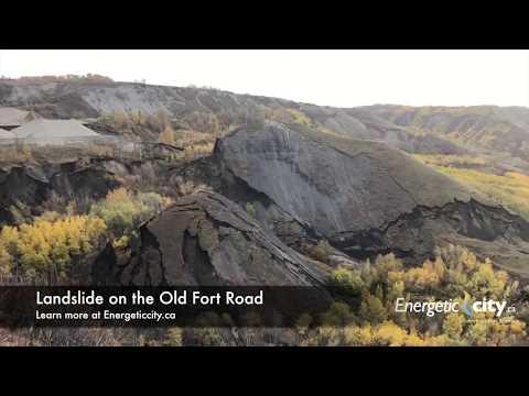 Landslide in the Old Fort - Fort St. John