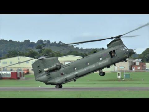"RAF Chinook HC4 - ""Not just a Helicopter!"" - Dunsfold 2015"