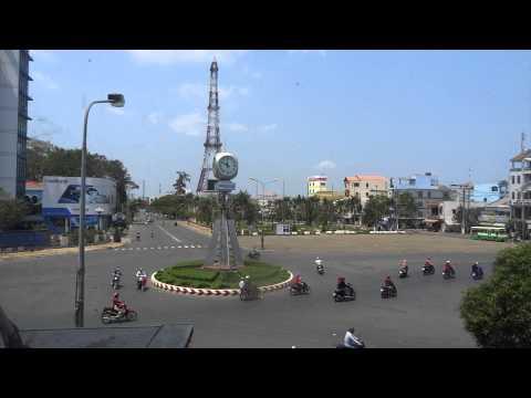 Trần Hưng Đạo roundabout  tp  Sóc Trăng 2015