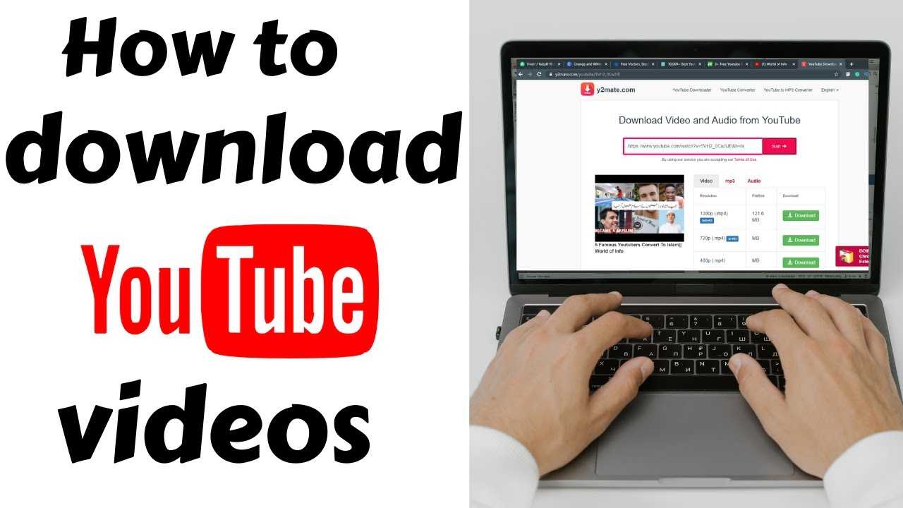 How to download YouTube videos without any Software?? World of