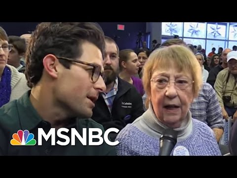 Trump And Sanders Supporters On Why Americans Are Angry | MSNBC