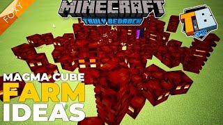 MAGMA CUBE FARM IDEA   Truly Bedrock Season 2 [73]   Minecraft Bedrock Edition