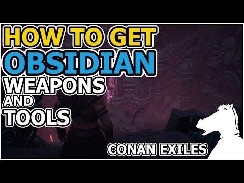obsidian uses conan exiles