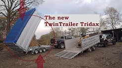 "Twin Trailer Battle!! - New TwinTrailer Tridax VS ""old one"" | Baumpflege Mertens"