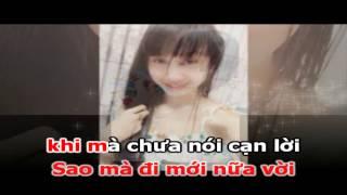 Karaoke chuyện tình tôi với em - full hd ( beat chuân ) - thanh nguyễn - tuấn quang