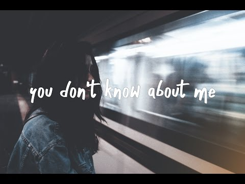 Ella Vos - You Don't Know About Me (Lyrics Video)