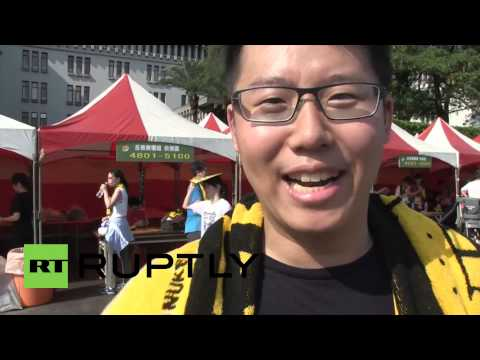 Taiwan: Thousands rally against nuclear in fear of another Fukushima