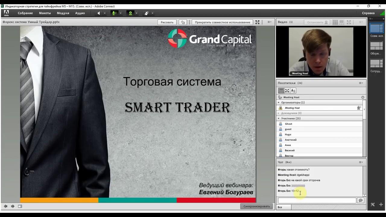 Торговая стратегия от Евгения Богураева