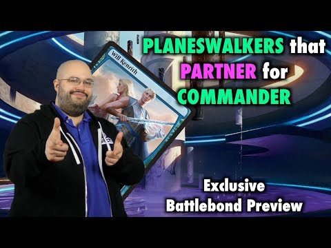 Exclusive Battlebond Preview - Will and Rowan Kenrith - Planeswalkers that Partner for Commander!