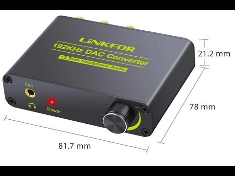 Обзор аудио конвертера ESYNiC 192 кГц с ЦАП, а так же способы подключения приставки Xiaomi Mi ТВ S