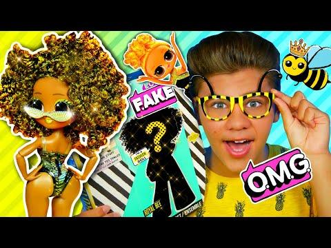 ЗОЛОТАЯ КОРОЛЕВА ЛОЛ! 👑 Royal Bee Lol Surprise OMG обзор от Бига