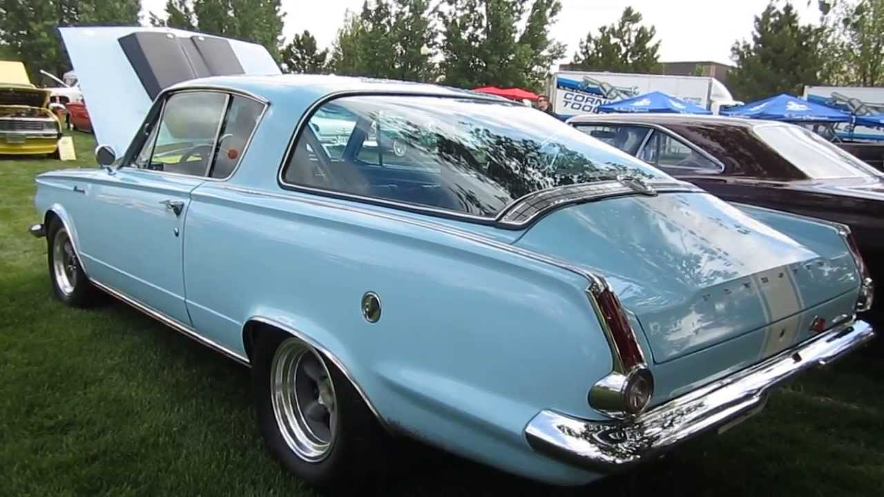 1965 Plymouth Barracuda - 450 HP, 520 Lbs  Torque - Restored!