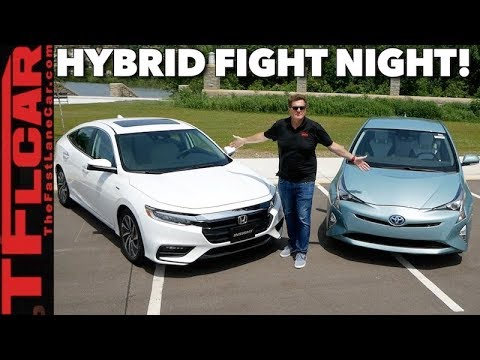 Compared 2019 Honda Insight Vs Toyota Prius 0 60 Mph Matchup Review