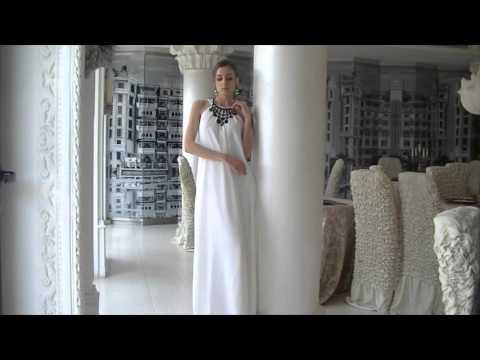 Официални рокли, Бели рокли, Дълги шифонени рокли