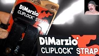 Dimarzio Cliplock Strap Installation