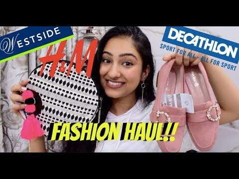 CLOTHING & SHOES HAUL | H&M, DECATHLON,WESTSIDE