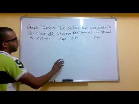 Видео Contabilizacion de intereses de prestamos bancarios