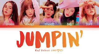 Red Velvet - Jumpin' (레드벨벳 - Jumpin') [Color Coded Lyrics/Han/Rom/Eng/가사]