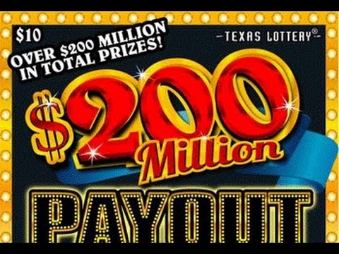 BIG WINNER!!! 200,000,000 Payout $10 Scratch Ticket Texas Lottery EP#2 by se scratcher