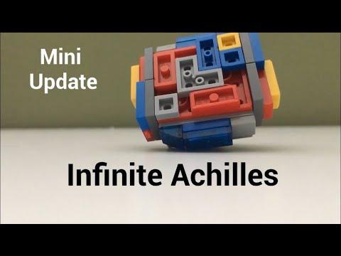 Infinite Achilles PROTOTYPE | Lego Beyblade Reviews