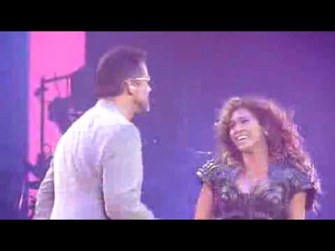 Beyonce Duet George Michael - If I Were a Boy Live at the O2 Arena Tuesday 9th June 2009 HQ HD {NEW}