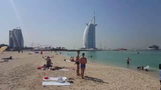 Dubaj 2015 - pláž Jumeirah Kite Beach
