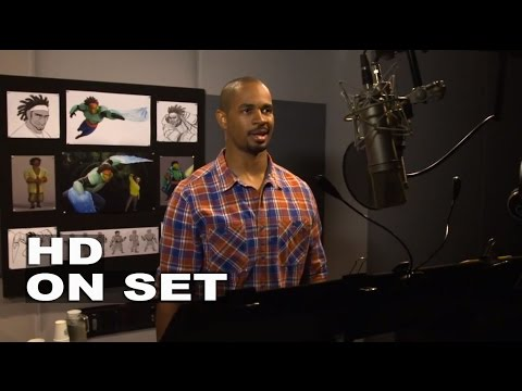 big hero 6 damon wayans jr quotwasabiquot behind the scenes