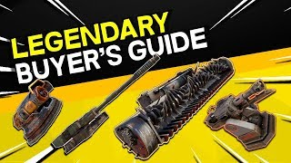 Legendary Weapon Buyer's Guide -- Crossout