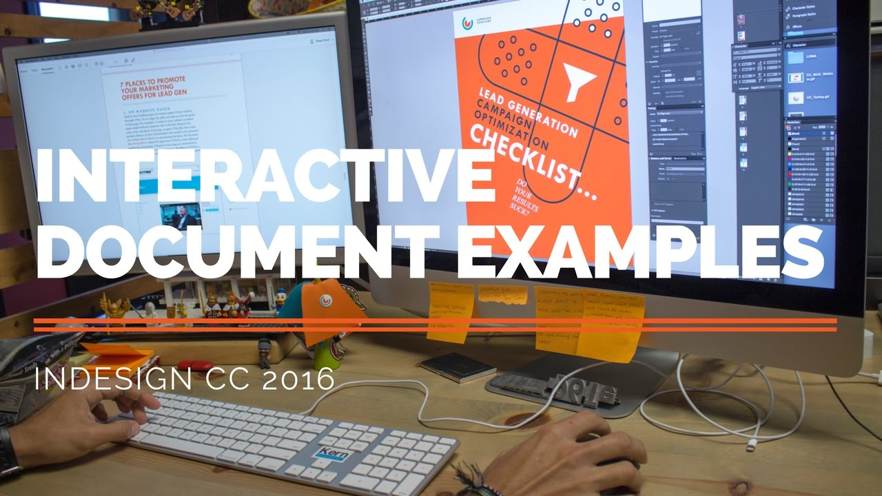 Interactive Document Examples - Adobe InDesign CC